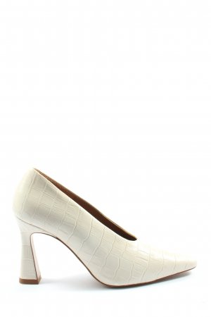 & other stories High Heels creme Animalmuster Elegant