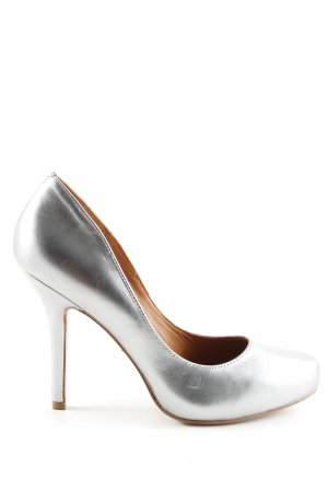 & other stories High Heels silberfarben Elegant