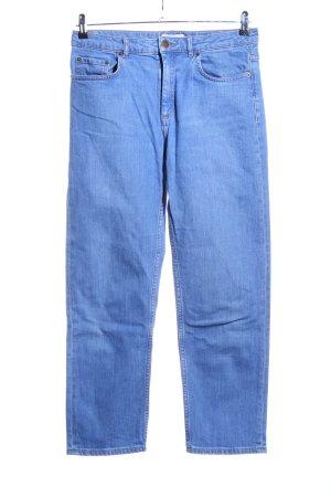 & other stories Vaquero de talle alto azul look casual