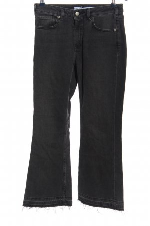 & other stories Denim Flares black casual look