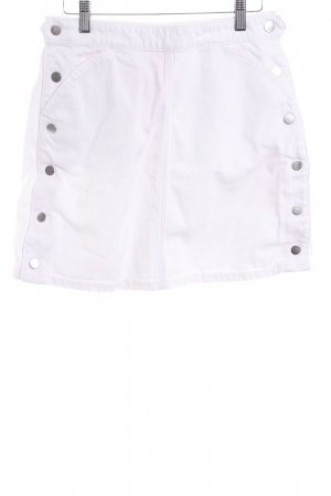 & other stories High Waist Skirt white street-fashion look