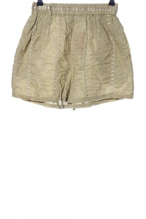 & other stories High-Waist-Shorts khaki Motivdruck Casual-Look