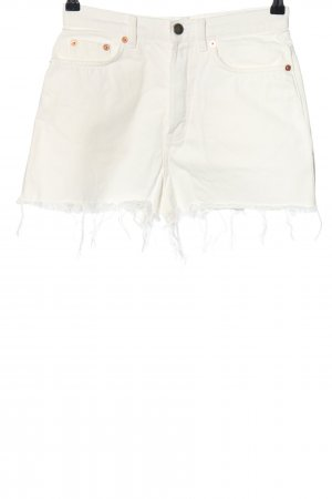 & other stories High-Waist-Shorts white casual look