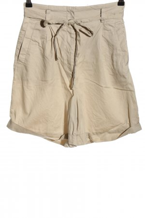 & other stories High-Waist-Shorts creme Casual-Look