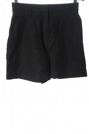 & other stories High-Waist-Shorts schwarz Casual-Look