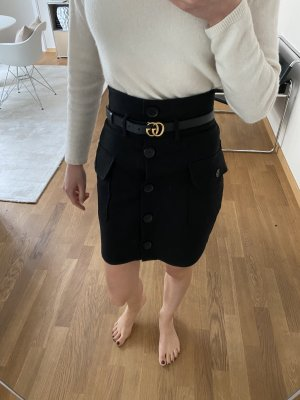 & other stories High Waist Skirt black