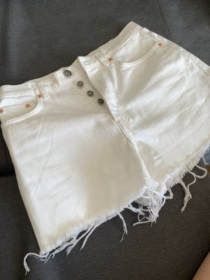 & other stories High-Waist-Shorts white