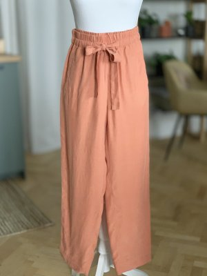 & other stories Pantalon taille haute orange-orange clair cupro
