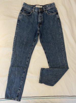 & other stories Jeans a vita alta blu acciaio