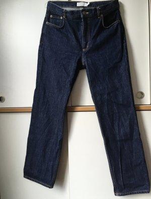 AndOtherStories Jeans a vita alta blu scuro Cotone