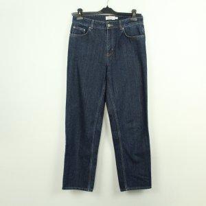 & other stories Jeans large bleu foncé coton