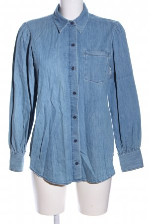 & other stories Jeanshemd blau Casual-Look
