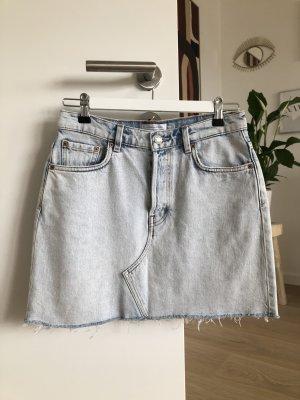 AndOtherStories Gonna di jeans azzurro Cotone