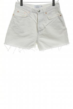 & other stories Jeansshorts weiß Casual-Look