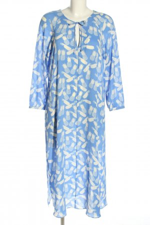 & other stories Kaftan blau-weiß Allover-Druck Casual-Look