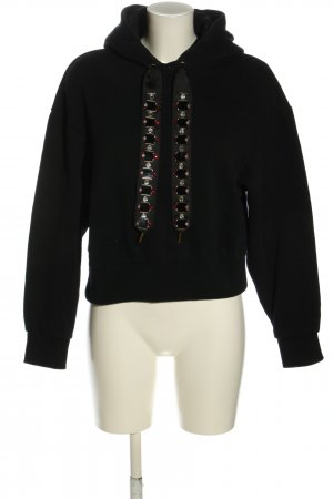 & other stories Sudadera con capucha negro look casual