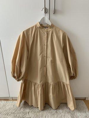 & other stories Abito blusa camicia beige-color carne Cotone