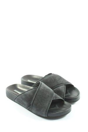 & other stories Sandales confort noir style décontracté