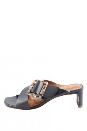 & other stories Comfort Sandals black casual look