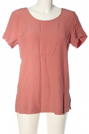 & other stories Kurzarm-Bluse rot Casual-Look