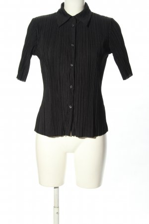 & other stories Short Sleeved Blouse black casual look