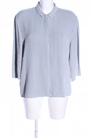 & other stories Kurzarm-Bluse Allover-Druck Casual-Look