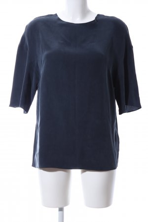 & other stories Kurzarm-Bluse blau Casual-Look