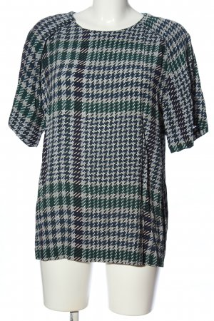 & other stories Kurzarm-Bluse Karomuster Casual-Look