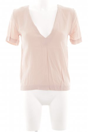 & other stories Kurzarm-Bluse creme Business-Look