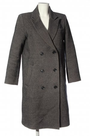 & other stories Short Coat light grey flecked casual look