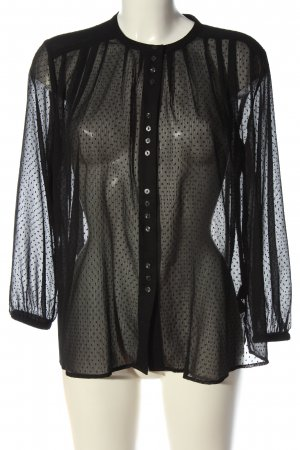 & other stories Blouse met lange mouwen zwart elegant