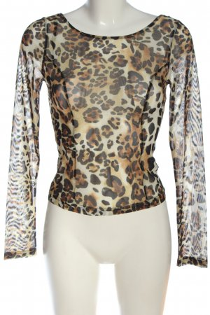 & other stories Langarm-Bluse Leomuster Casual-Look