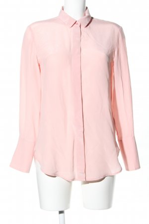 & other stories Langarm-Bluse pink Business-Look