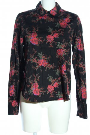 & other stories Langarm-Bluse Allover-Druck Casual-Look