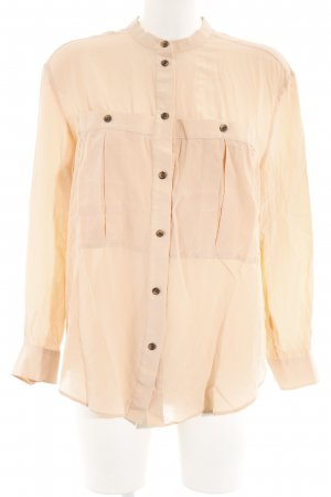 & other stories Langarm-Bluse apricot Elegant
