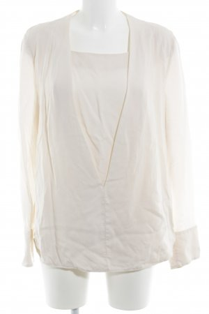 & other stories Langarm-Bluse creme Elegant