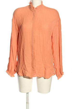 & other stories Langarm-Bluse hellorange Business-Look