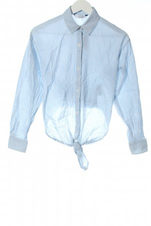 & other stories Long Sleeve Shirt blue-white striped pattern casual look