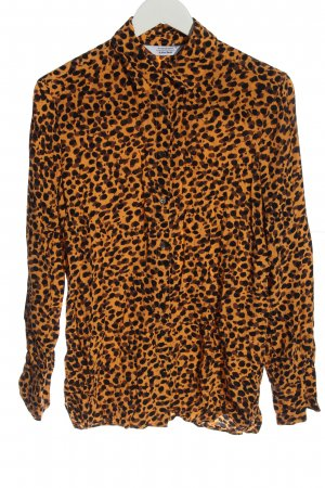 & other stories Long Sleeve Shirt animal pattern casual look