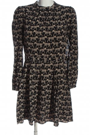 & other stories Longsleeve Dress black-cream allover print casual look