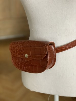 & other stories Bumbag cognac-coloured leather