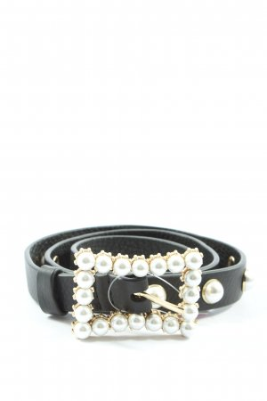 & other stories Faux Leather Belt black casual look