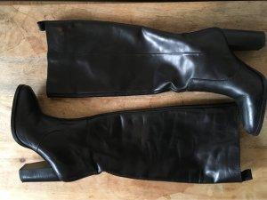 & Other Stories Lederstiefel in schwarz, Größe 38