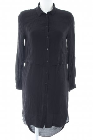 & other stories Long-Bluse schwarz Business-Look