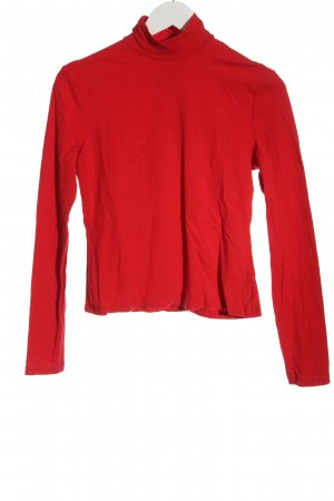 & other stories Longesleeve rood casual uitstraling