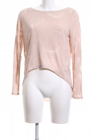 & other stories Longsleeve pink Allover-Druck Casual-Look