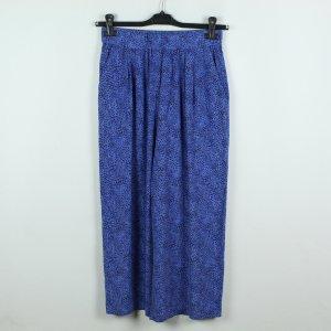 & other stories Pantalon Marlene bleu-noir viscose