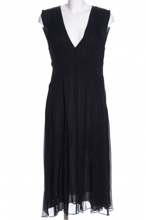 & other stories Midi-jurk zwart casual uitstraling