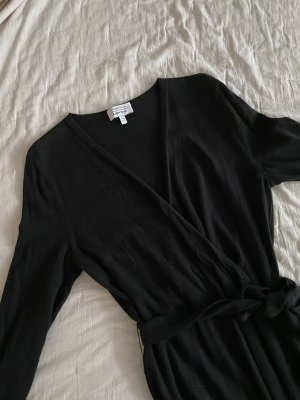& other stories Midi Dress black wool