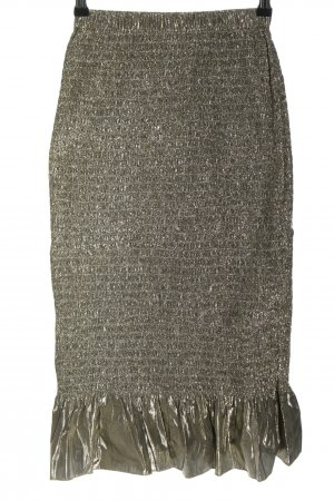 & other stories Midi Skirt gold-colored casual look